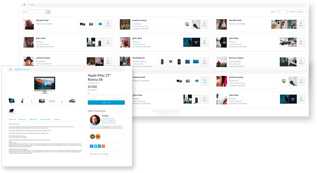 multimerch features marketplace for your customers