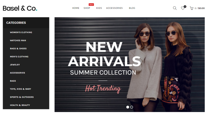 basel opencart theme with multimerch blog category fashionflat