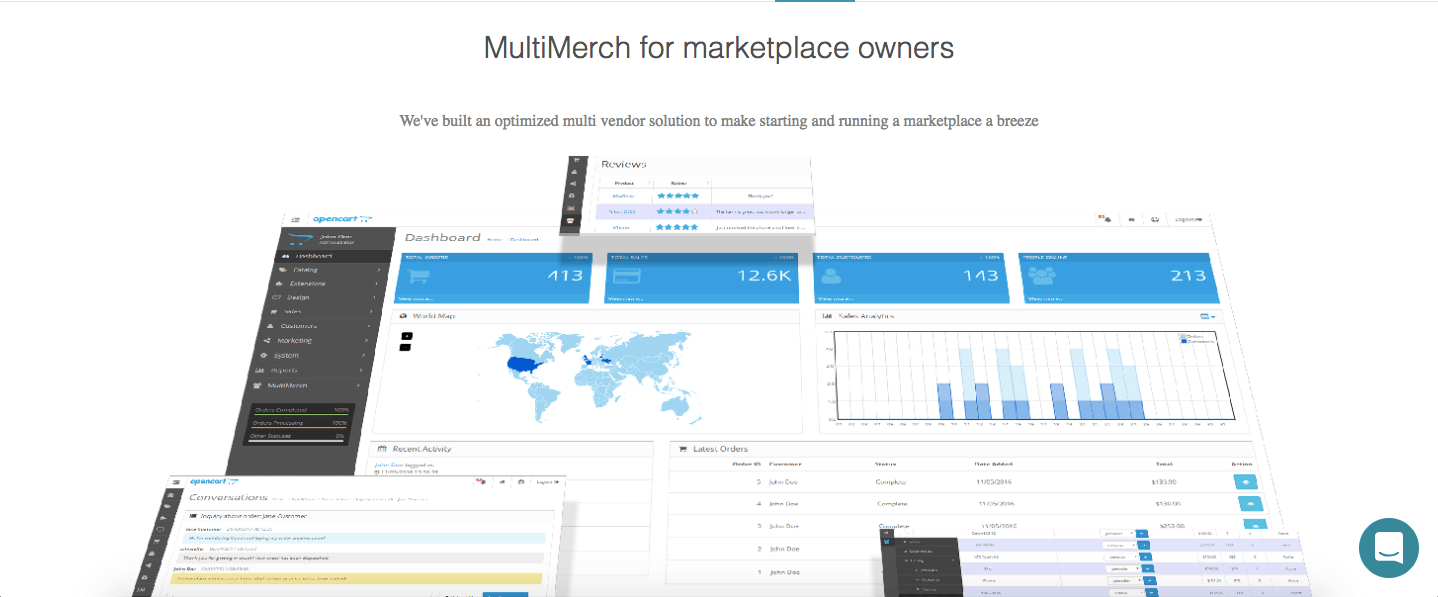 Multimerch Multivendor Software