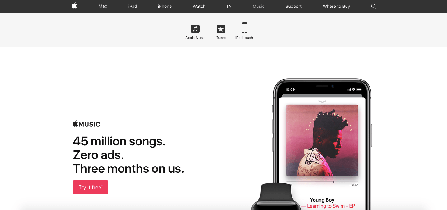 apple music marketplace