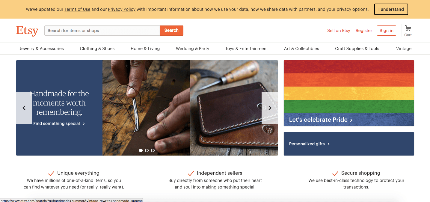 etsy digital marketplace