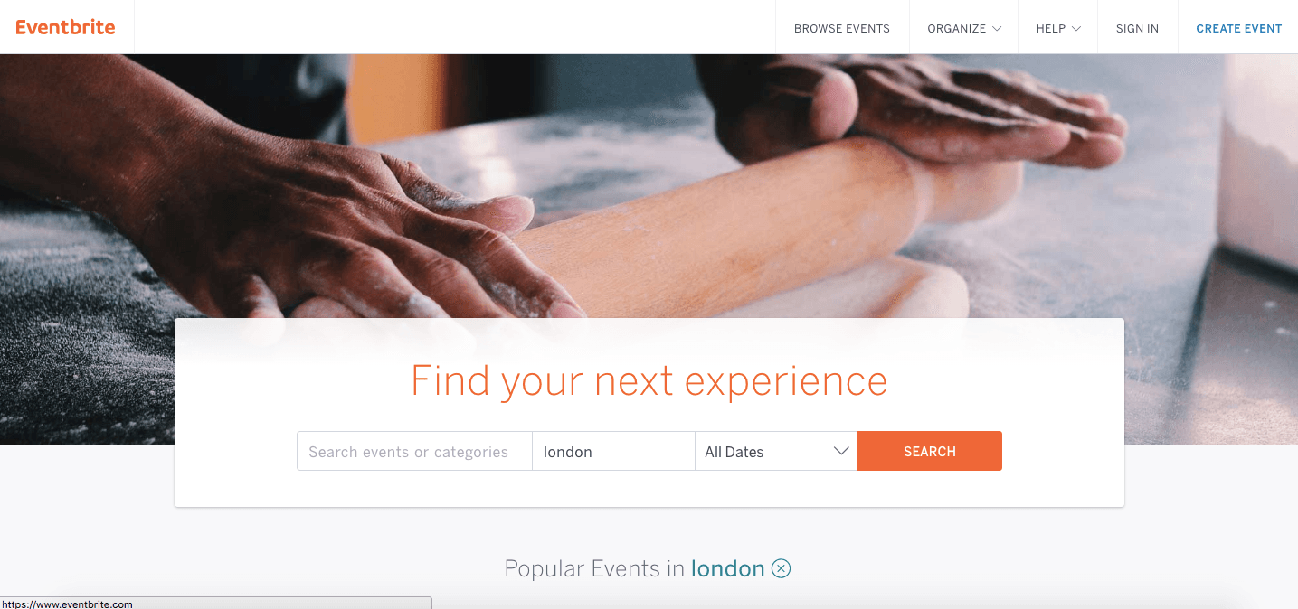 eventbrite online marketplace