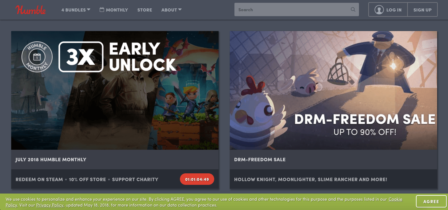 humble bundle marketplace
