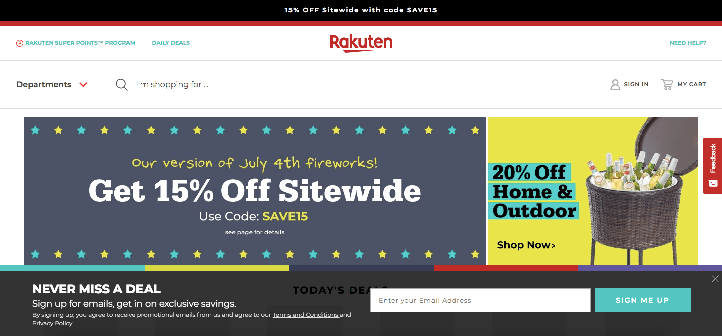 rakuten marketplace