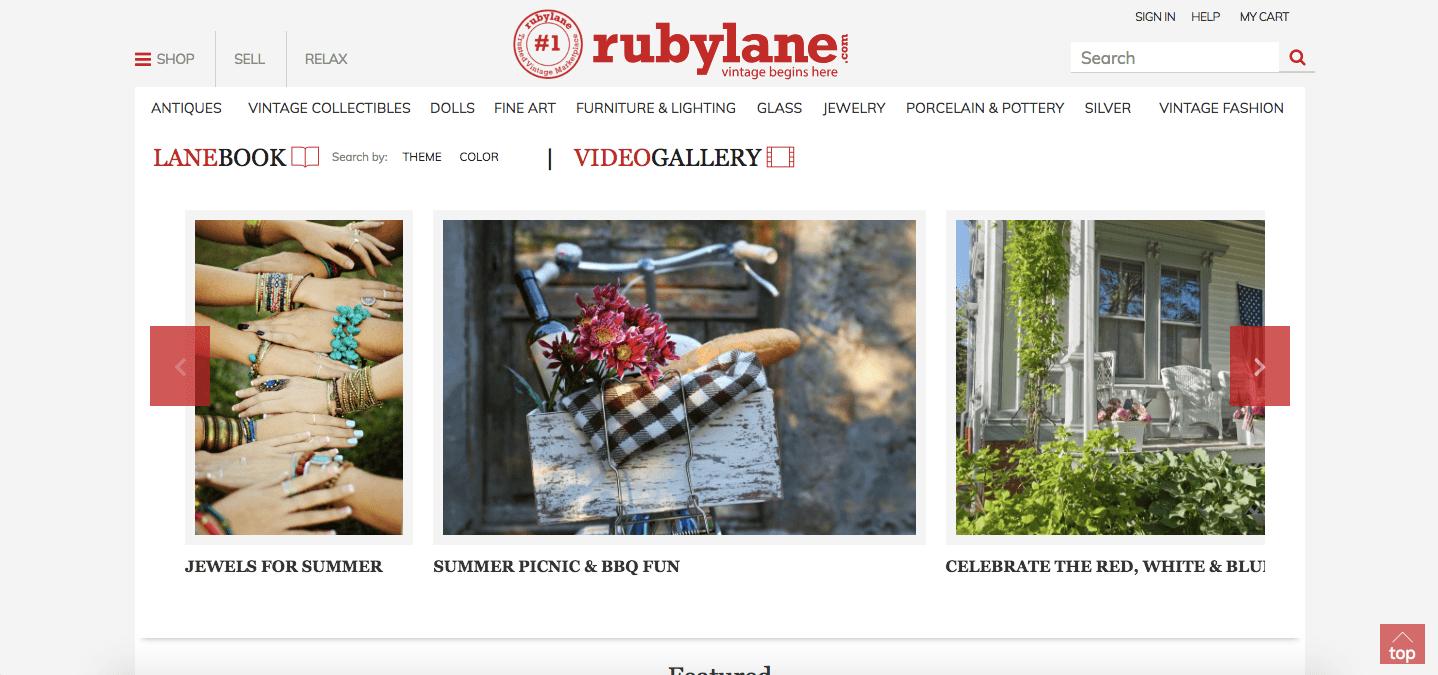 rubylane marketplace