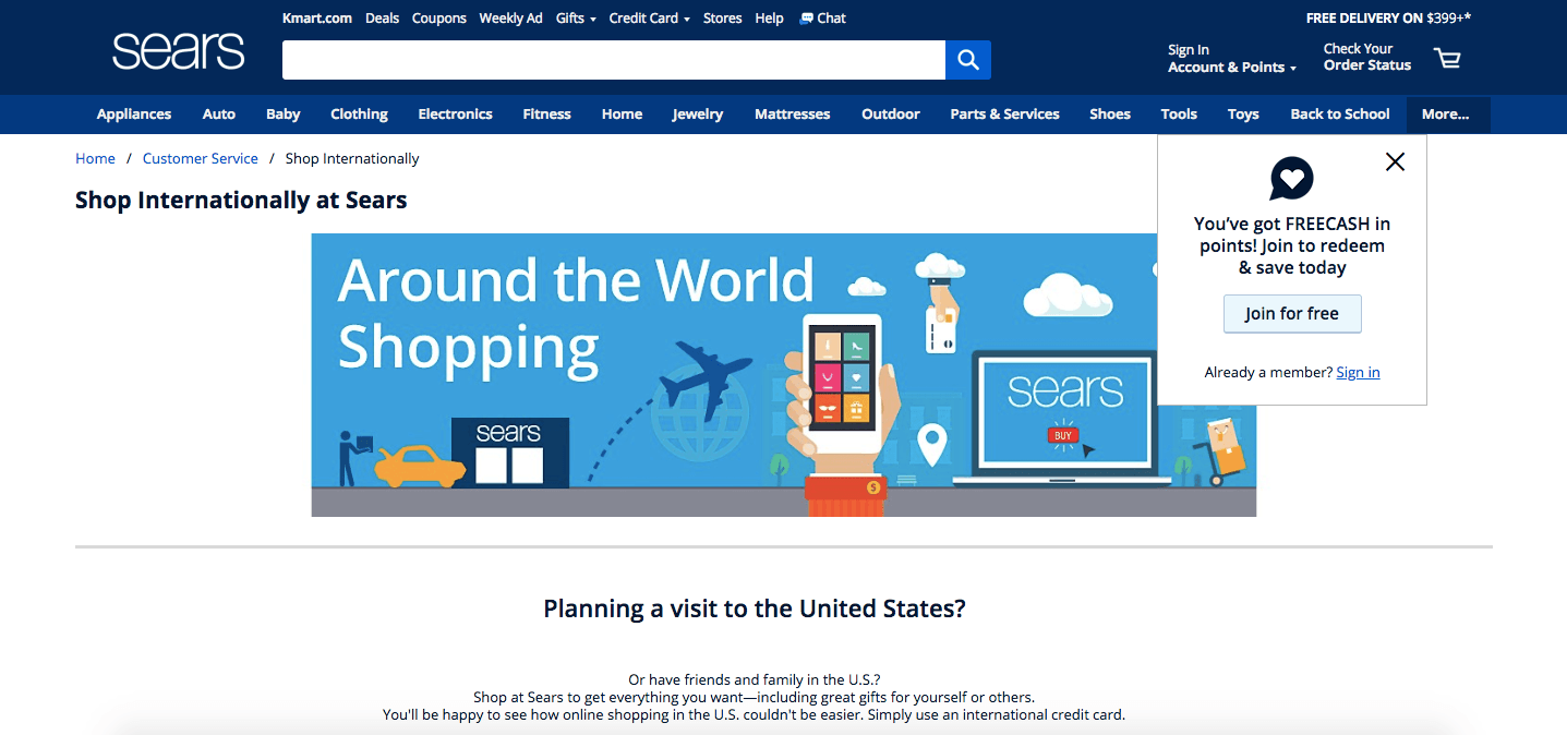 sears online marketplace