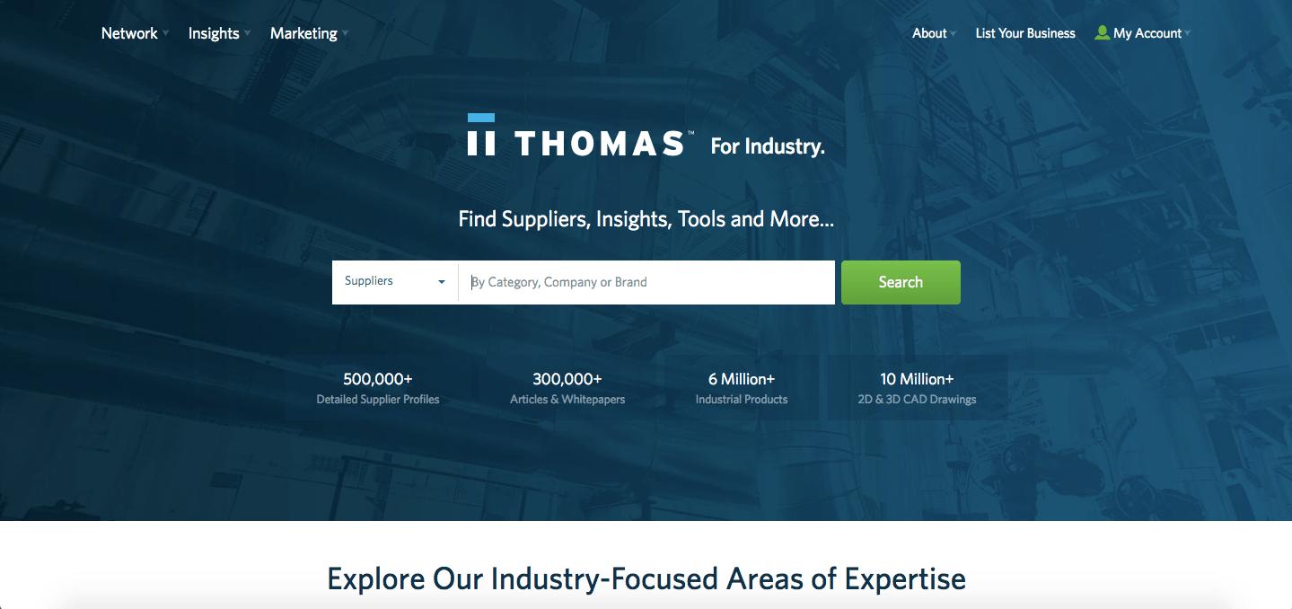 thomasnet online marketplace