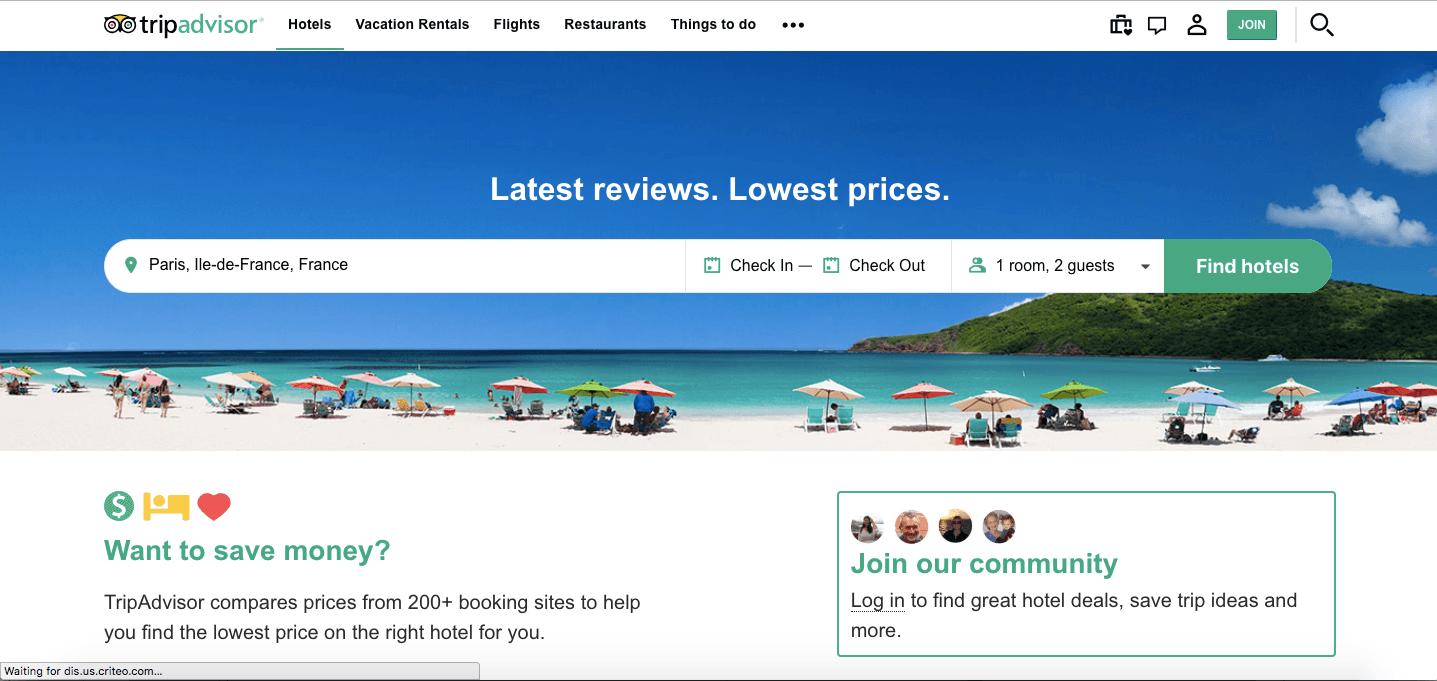 tripadvisor online marketplace
