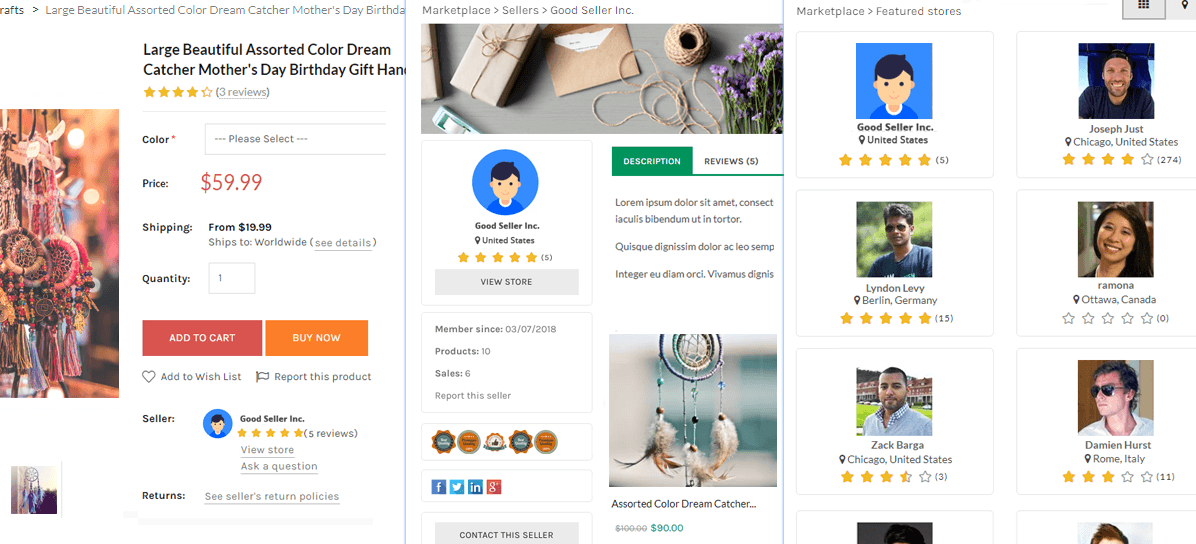 handmade marketplace platform features overview feb 2019