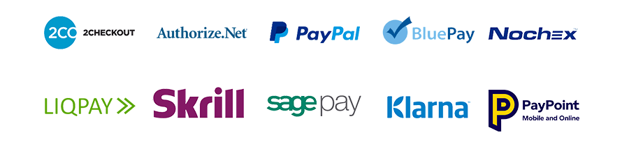 marketplace features many payment gateways