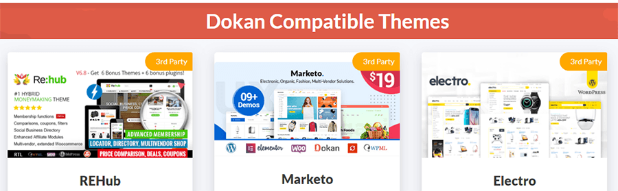 woocommerce multi vendor dokan themes