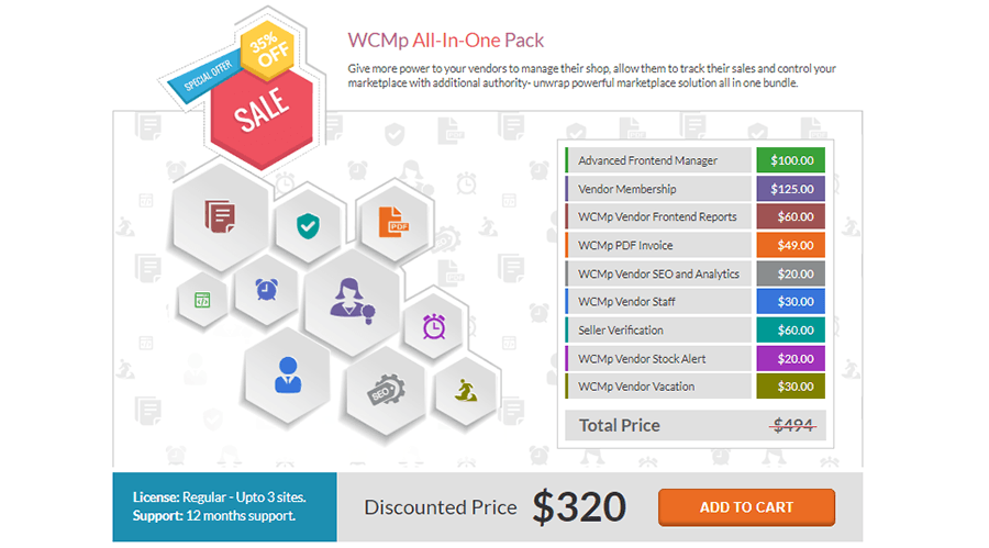 woocommerce multi vendor wc marketplace pricing