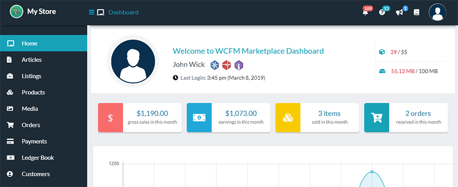 woocommerce multi vendor wcfm marketplace overview
