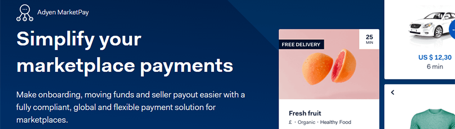 marketplace payments multimerch adyen marketpay