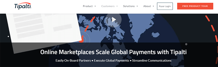 marketplace payments multimerch tipalti