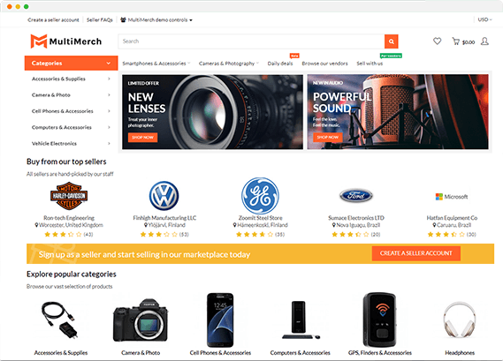 All-In-One Multivendor Marketplace Software | MultiMerch