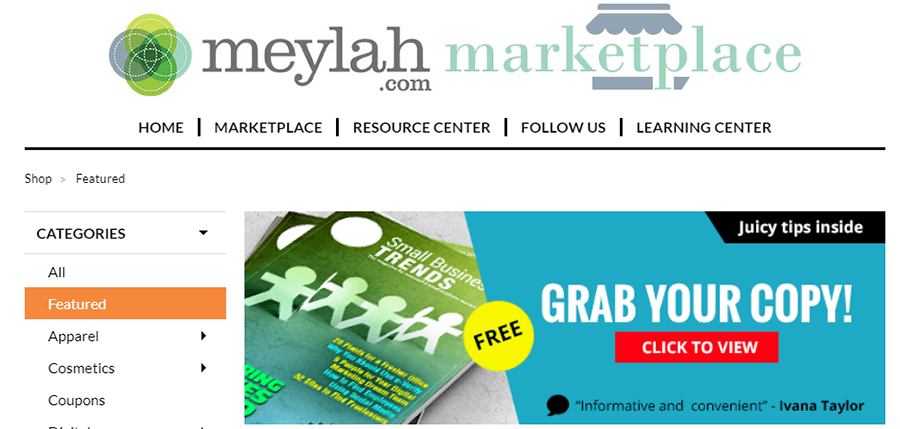 handmade marketplaces multimerch meylah marketplace