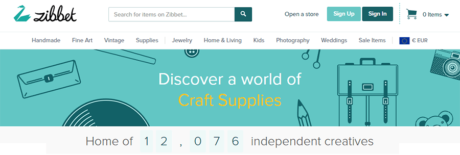 handmade marketplaces multimerch zibbet